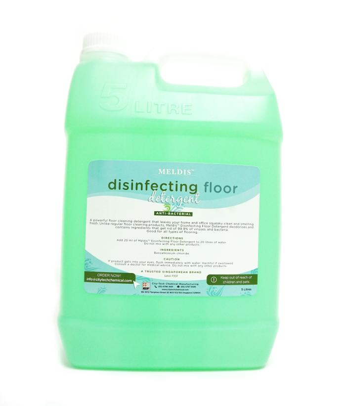 Meldis™ Disinfecting Floor Detergent